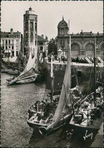 CPA Dünkirchen (Dunkerque) Le Port de peche et le Leughenaer 1964