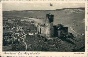 Ansichtskarte Bernkastel-Kues Berncastel-Cues Burg Landshut 1938