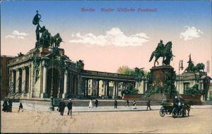 Ansichtskarte Berlin Kaiser Wilhelm I. Denkmal 1915