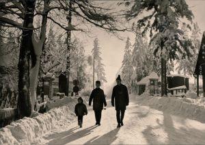 Ansichtskarte Oberbärenburg-Altenberg (Erzgebirge) Winterpartie 1971