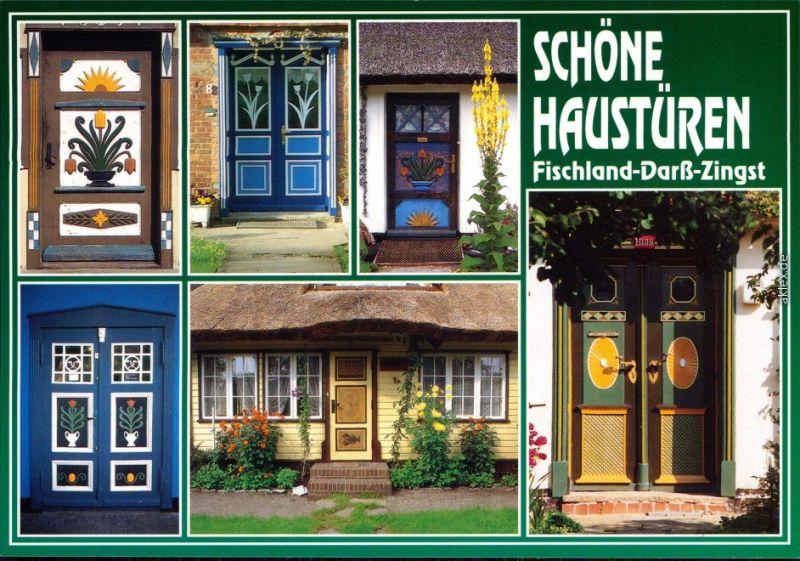 Ansichtskarte Zingst-Darss Schöne Haustüren 2004