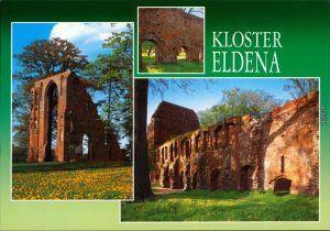 Ansichtskarte Eldena-Greifswald Klosterruine Eldena 2004