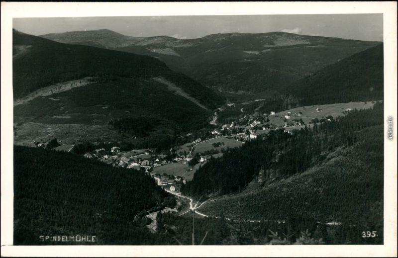Spindlermühle Špindlerův Mlýn | Spindelmühle Blick auf den Ort