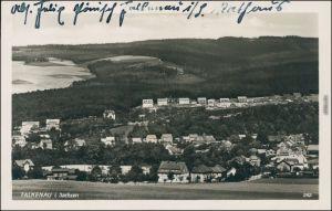 Ansichtskarte Falkenau-Flöha (Sachsen) Blick auf die Stadt 1930