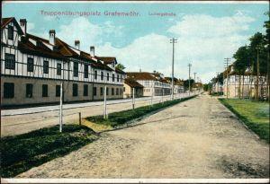 Ansichtskarte Grafenwöhr Truppenübungsplatz - Ludwigstrasse 1913