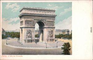 CPA Paris Pariser Triumphbogen / Arc de Triomphe de l'Étoile 1907