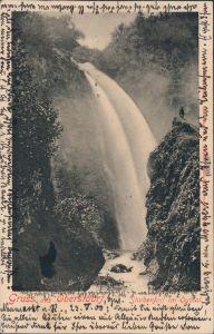 Ansichtskarte Oberstdorf (Allgäu) Stuibenfall im Oythal 1900