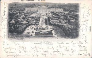 CPA Versailles Schloss Versailles 1900