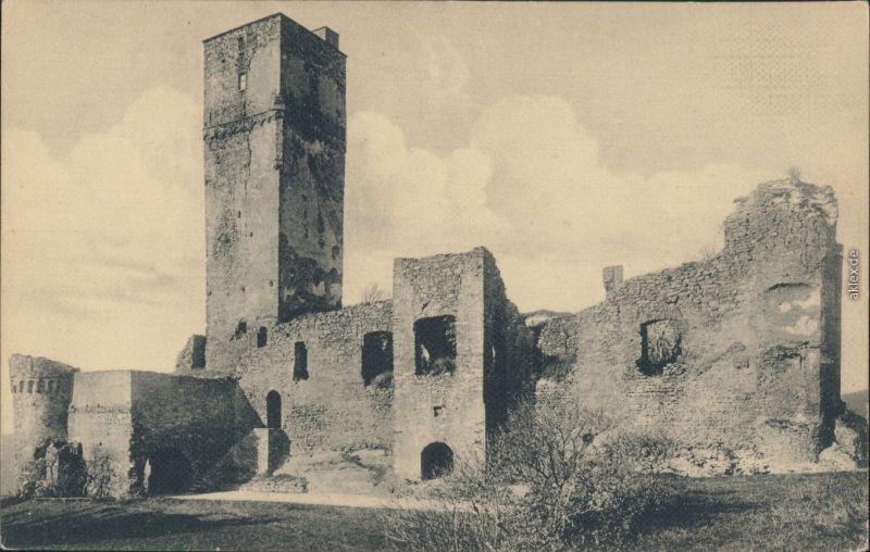 Ansichtskarte Königstein (Taunus) Burgruine Königstein 1921