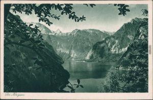 Ansichtskarte Schönau am Königssee Königssee 1935