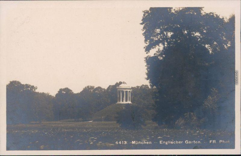 Foto München Englischer Garten - Pavillon 1934 Privatfoto Nr. 114227 ...