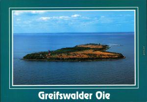 Ansichtskarte Kröslin Greifswalder Oie - Luftbild 2002