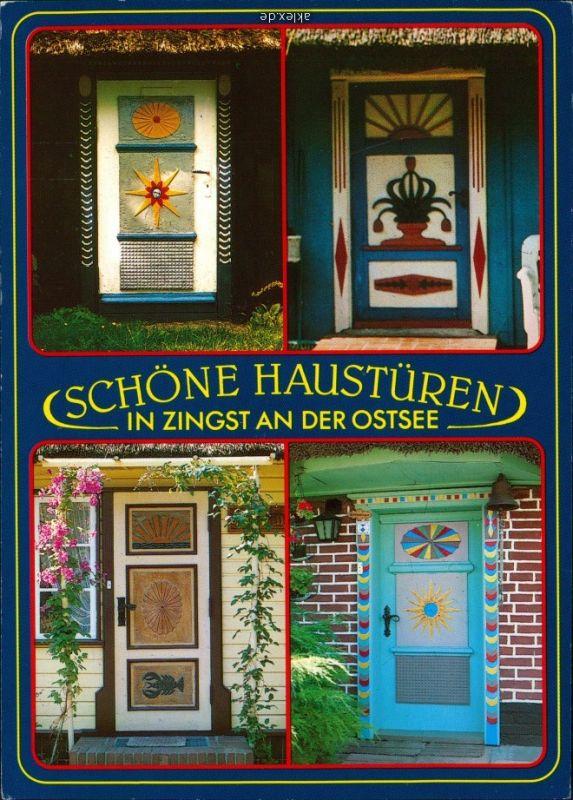 Ansichtskarte Zingst Schöne Haustüren 1994