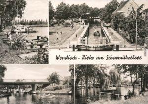Ansichtskarte Wendisch Rietz Scharmützelsee 1969