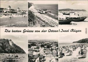 Mecklenburg Vorpommern Binz, Sellin, Baabe, Königsstuhl, Bergen, Göhren g1970