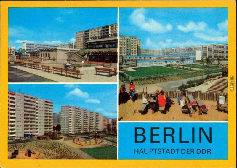 Ansichtskarte Lichtenberg Berlin Berlin - Lichtenberg Neubaugebiet g1981