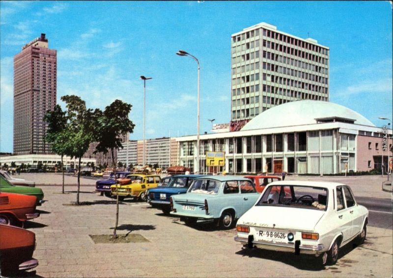 Ansichtkarte Mitte Berlin Alexanderplatz 1978