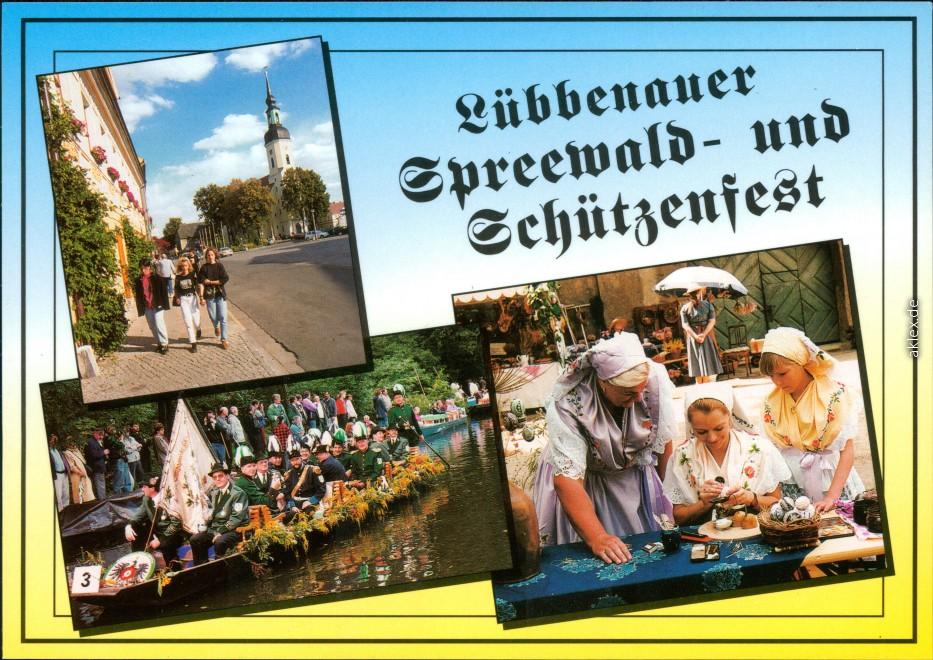 Lübben (Spreewald) Lubin (Błota) Spreewald- und Schützenfest 1995
