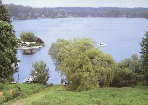 Ansichtskarte Flecken Zechlin Schwarzen See 1995
