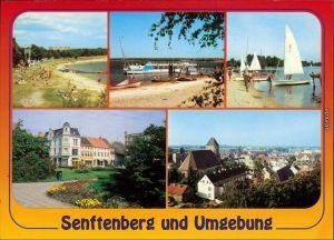 Großkoschen-Senftenberg (Niederlausitz) Senftenberger See Bootshafen 1995