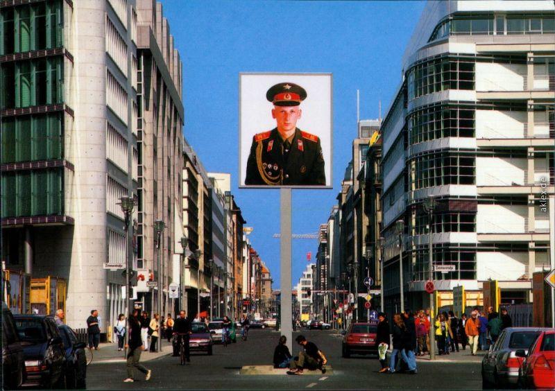 Ansichtskarte Mitte-Berlin Friedrichstraße 1980