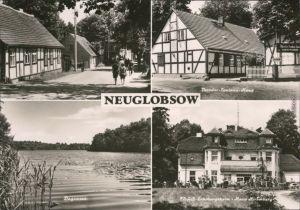 Neuglobsow-Stechlin Straße, Theodor-Fontane-Haus, Dagowsee, Erholungsheim 1973