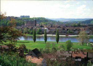 Ansichtskarte Pirna Blick auf die Stadt 1995