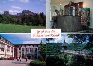 Bad Schandau Falkenstein (Sächsische Schweiz) - Klinik - Fahrstuhl 1990
