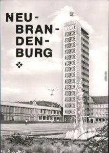 Ansichtskarte Neubrandenburg Haus der Kultur und Bildung 1974
