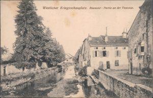 CPA Blâmont (Blankenberg) Ansichten Erster Weltkrieg - Kanal 1916
