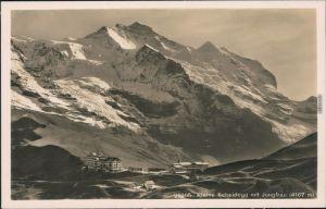 Ansichtskarte Grindelwald Kleine Scheidegg mit Jungfrau 1931