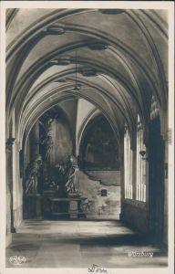 Ansichtskarte Würzburg St. Kiliansdom zu Würzburg - Kreuzgang 1932