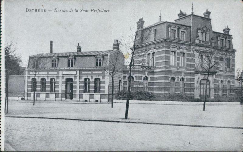 Cpa b thune betun bureau de la sous prefecture 1922 nr 116617 oldthing ansichtskarten europa - Bureau des associations prefecture ...
