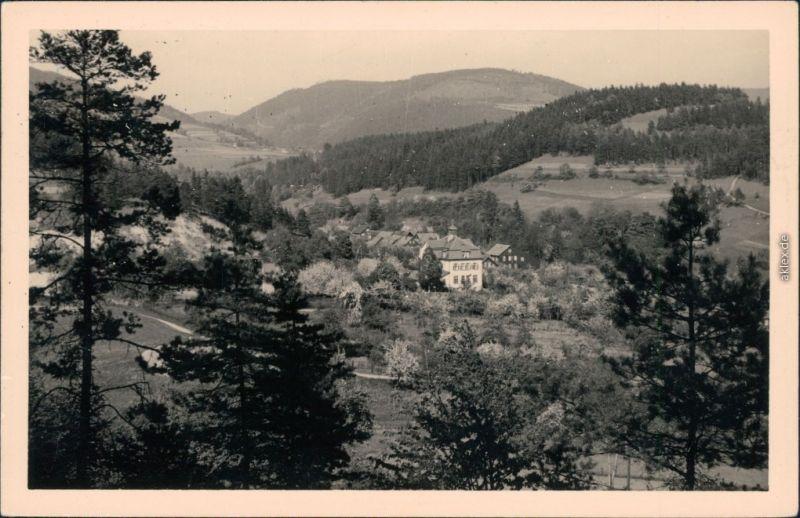 Ansichtskarte Schalkau Truckenthal 1957