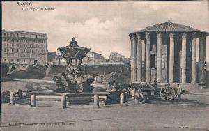 Ansichtskarte Rom Roma Tempio di Vesta 1910