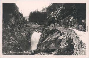 Ansichtskarte Guttannen Handeckfall - Grimselstraße 1929