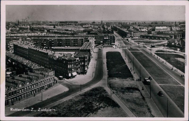 Ansichtskarte Rotterdam Rotterdam Zuidplein 1953