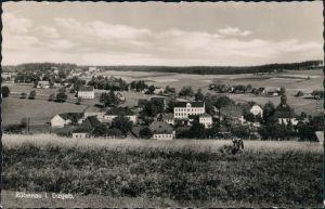 Ansichtskarte Rübenau-Marienberg im Erzgebirge Blick auf den Ort 1955