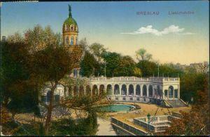 Ansichtskarte Breslau Wrocław Liebichshöhe 1914