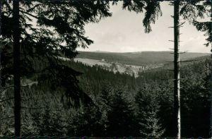Ansichtskarte Tellerhäuser-Breitenbrunn (Erzgebirge) Panorama-Ansicht 1961