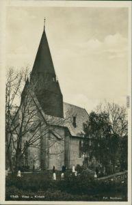 Ansichtskarte Voss (Norwegen) Vossevangen Kirche 1931