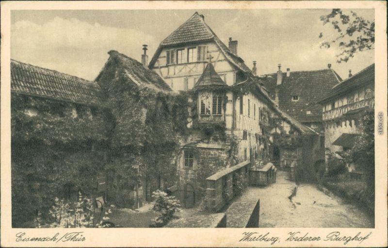 Ansichtskarte Eisenach Wartburg - Vorderer Burghof 1941
