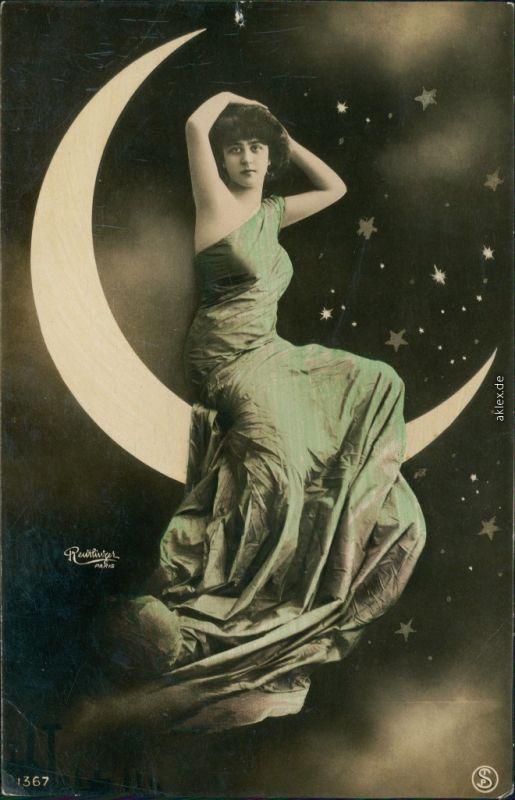 Ansichtskarte  Menschen / Soziales Leben - Erotik (Nackt - Nude) Erotika 1906