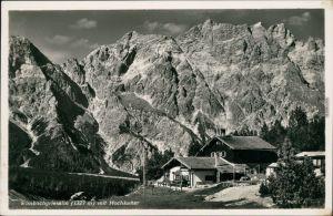Ansichtskarte Berchtesgaden Wimbachgriesalm mit Hochkalter 1937