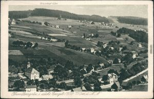 Rittersgrün-Breitenbrunn (Erzgebirge) Panorama-Ansicht - Oberrittersgrün 1928