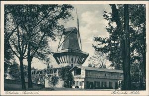 Ansichtskarte Potsdam Historische Mühle - Sanssouci 1937