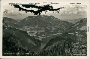 Ansichtskarte Berchtesgaden Gotzenalm (Berg, Berchtesgaden) 1935