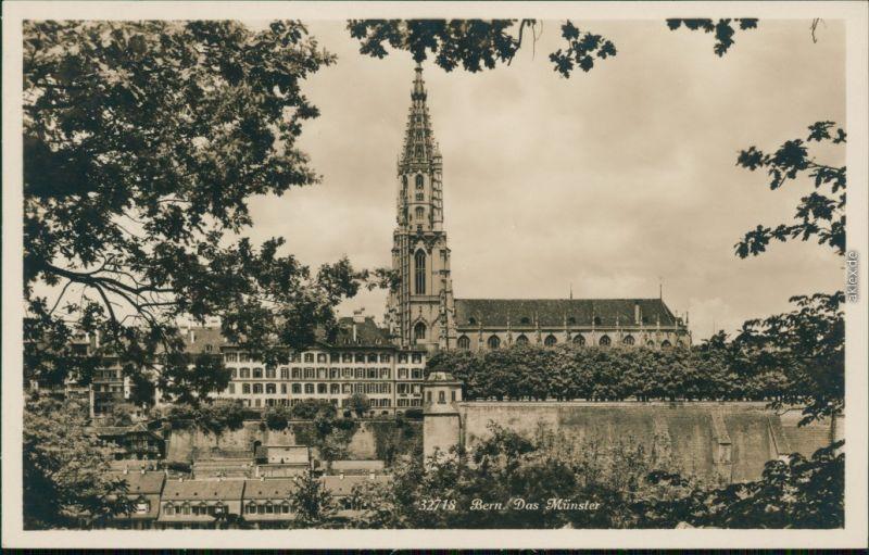 Ansichtskarte Bern Das Münster 1930