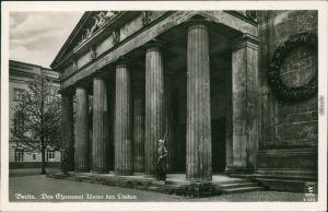 Ansichtskarte Mitte-Berlin Reichsehrenmal mit Wache 1934