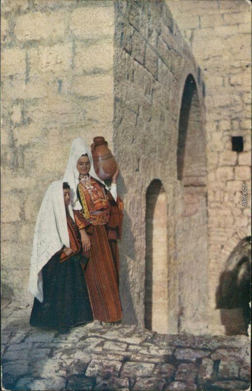 Ansichtskarte  Bethlehemer Frauen Typen Orient  1913